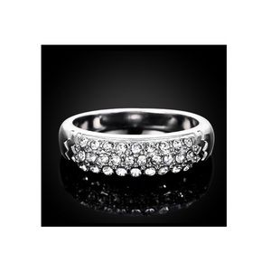 Jewelry - Platinum Plated Austrian Crystal Ring